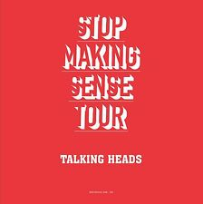 New listing Talking Heads - Stop Making Sense Tour - NEW SEALED 2 LP 180g colored vinyl!