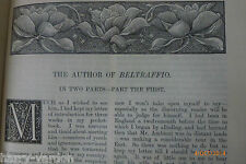 Victorian First Edition The Author of Beltraffio Henry James Travel Kiyoto1884