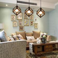 Geometric Shape Ceiling Lamp Square Pendant Lighting Hanging Lamp Light