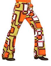 Pantalon groovy géométrique années 70 homme Cod.308823