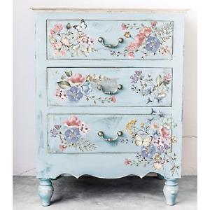 Floral Furniture Decals Prima ReDesign Transfers Furniture Transfers Rub On