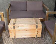 2 Stühle Bistro Set Haus Garten Wintergarte Eisen Braun NEU 5Y0636 Shabby Tisch