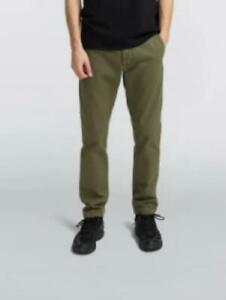 Edwin 55 chino -Military Green - garment dyed