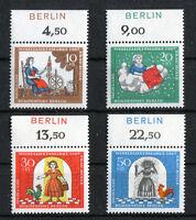 Berlin 310 - 313 OR postfrisch mit Zudruck Berlin Brüder Grimm 1967 MNH