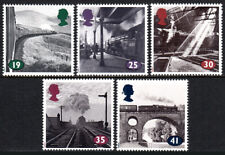 Great Britain 1533-1537, MNH. The Age of Steam. Locomotives,Station,Bridge, 1994