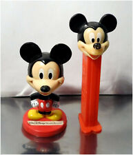 Vintage Collectible Disneyana Advertisement Products, PEZ, Kellogs, Mickey Mouse