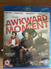 Zac Efron Miles Teller THAT AWKWARD MOMENT Z 2013 Sex Comedy | UK Blu-ray