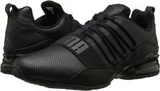 Puma Mens 11.5 Cell Regulate SL BLACK Running Sneaker Athletic Shoes