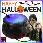 Halloween Witch Pot Cauldron Mister Mist Maker Smoke Fog Machine Party Prop Deco