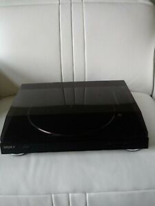 Sony PS-LX300USB Vinyl USB Stereo Turntable LP  Record Player Black  Preowned