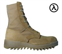 "MCRAE 8"" RIPPLE HOT WEATHER USA MADE MILITARY BOOTS 8188 / COYOTE * ALL SIZES"