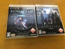Resident Evil Revelations Unveiled Edition ,Resident Evil 6 set Japan game