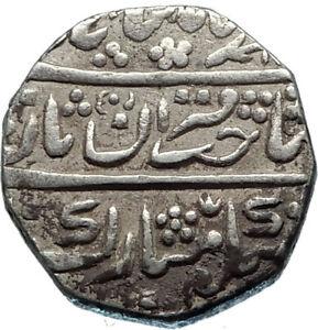 1756-1860AD India JAISALMIR State Authentic Antique Silver Rupee Coin i65659