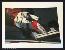Gerhard Berger SIGNED autograph 12x8 photo McLaren, Formula 1 Japanese GP 1992