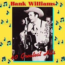 Hank Williams - 40 Greatest Hits 180gr Vinyl 2 LP