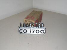 """INTERNATIONAL """"LOADSTAR CO1700"""" TRUCK EMBLEM NOS"""