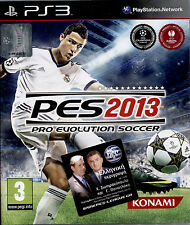 PRO EVOLUTION SOCCER 2013 - PS3 NUOVO E SIGILLATO, IN ITALIANO