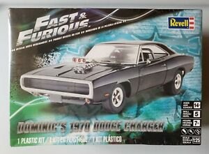 Revell - Dominic's 1970 Dodge Charger - Fast & Furious 1:25 Plastic Model Kit