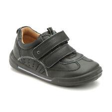 START Rite Flexy Suave Aire chicos primero caminar zapatos Vivero De Cuero Negro Tamaño 5 F