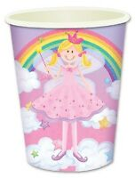 BULK BUY~ 16x Princess Fairy Themed Paper Party Cups.