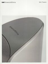 B&W Mini Theatre Speakers Original Brochure 2005 M-1, PV1, AS2, AS1