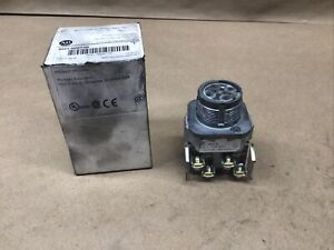 Allen-Bradley 800T-N2KF4B 4-Position Selector Switch Maintained #88A34