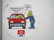 Aufkleber Sticker Ford Bank Fiesta Escort Mondeo Galaxy Ka Finanzierung (M1778)