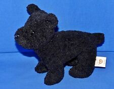 "Ty SCOTTIE Black Terrier Dog (6"") Beanie Baby 1997 Boys Girls 3+ NT"