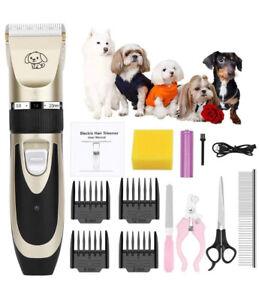 Cortadora de Pelo Cortapelos Profesional Para Perros Maquina Cortar Pet Grooming
