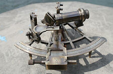 Nautical Sextant (Henry Barrow & Co London) Vintage Working Astrolabe Sextant