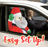 Holiday 3 Foot Santa Claus Car Buddy Christmas Airblown Inflatable Gemmy 2020
