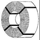 Stewart Products # 210 Strip Steel Coils   (6 per pkg)   HO Scale MIB