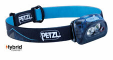 Petzl Actik Headtorch Outdoor Running Hiking Headlamp Compact Lighting (Blue)