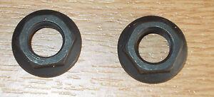 Bike Cycle Bicycle Bottom Bracket Axle Crank Nuts ( 1 Pair = 2)