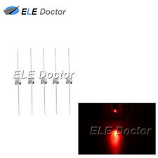 1000pcs 15mm Water Clear Red Light Led Diodes Mini High Quality Ultra Bright