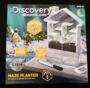 NIB 2019 Discovery MindBlown Maze Planter Do It Yourself Kit With Free Shipping