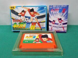 NES -- CAPTAIN TSUBASA 2: Super Striker  -- Boxed. Famicom, Japan game. 10742