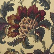 J. QUEEN Catherine KING COMFORTER SET 5pc PILLOW NWT Victorian Floral Burgundy