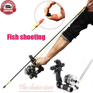 Shooting Fishing Slingshot Archery Bow Flat Leather Catapult hunting Crossbow