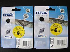 2 x Genuine EPSON T0441 Parasol Black Ink Cartridges for Epson Stylus Printers