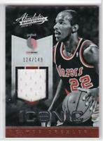 2016-17 Clyde Drexler #/149 Panini Absolute Iconic Materials