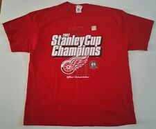 Detroit Red Wings 2002 Stanley Cup Champions Parade Edition T-Shirt! New!!