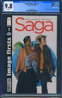 Image Firsts Saga 1 (Image) CGC 9.8 White Pages Reprint of Saga 1