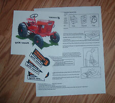 ECONOMY POWER KING TEE SHIRT IRON ON  W / INSTRUCTIONS