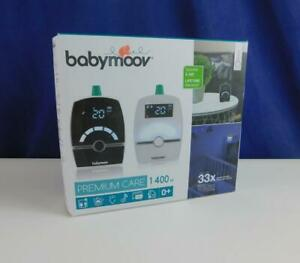 Babymoov Babyphone Premium Care Babyfon Baby Monitor 1400m Reichweite