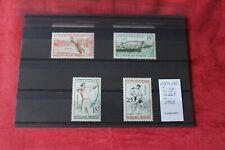 Timbres poste France série complète de 1958 le 1161 à 1164 en neufs **