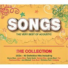 VARIOUS - SONGS...THE VERY BEST OF ACOUSTIC: 2CD ALBUM SET (July 17th 2015)