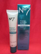 Boots No7 Protect & Perfect Intense Advanced Serum~Full Size 1oz~Nib