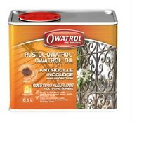 ANTI ROUILLE INCOLORE 0.5L RUSTOL OWATROL direct