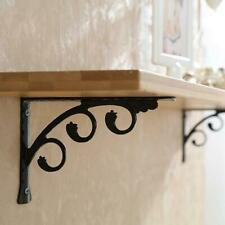 2PCS Metal Rustic Bracket Scaffold Board L Shaped Heavy Duty Shelf Bracket Set